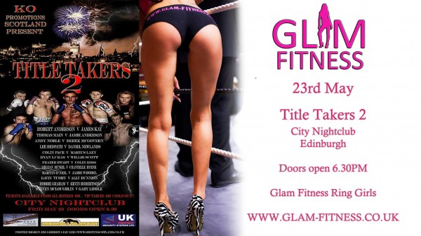 glam fitness boxing babe