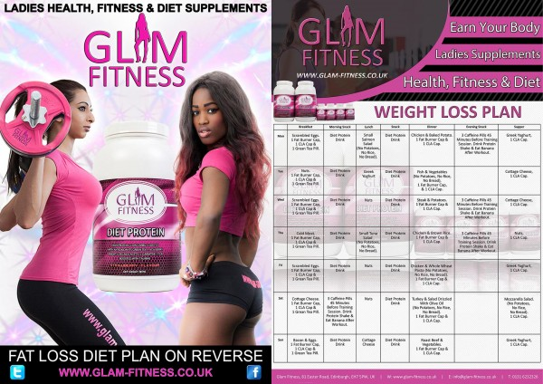 Glam Fitness Fat Loss Plan
